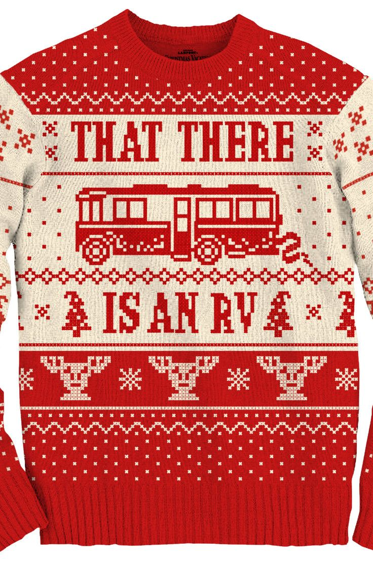 Cousin Eddie RV Sweater: Christmas Vacation Mens Sweaters