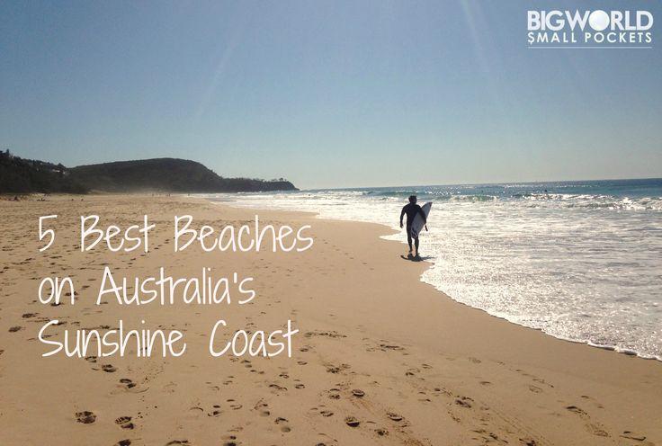 5 Best Beaches on the Sunshine Coast Australia