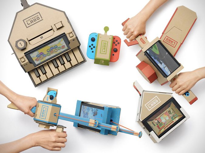 Nintendo LABO on Collaboration Generation – the latest and best in brand innovation