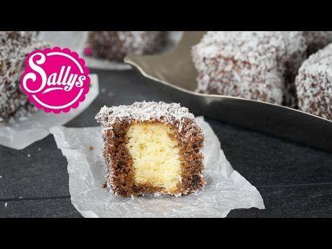 (Lamingtons) / Cupavci - locker leichte, schokoladige Schokoladenwürfel im Kokosmantel - YouTube - neue Kategorie: Sallys Zuschauerrezepte 31.01.16