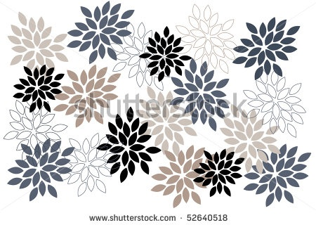 stock vector : flower