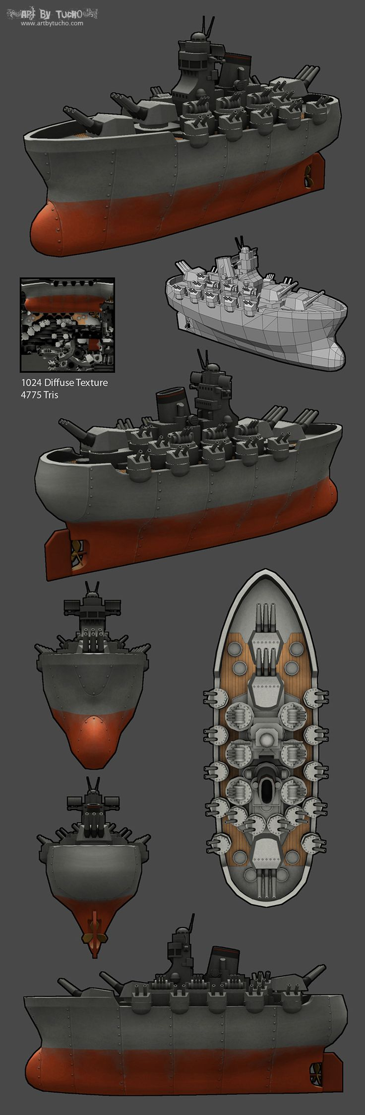 LOWPOLY (sub 1000~ triangle models) - Page 457 - Polycount Forum