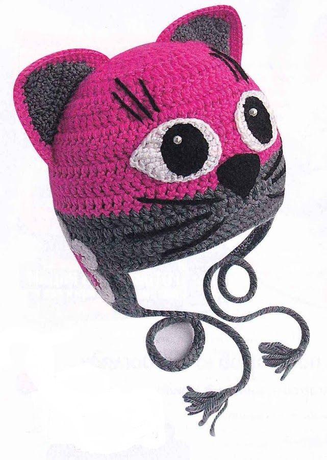 шапка кошка