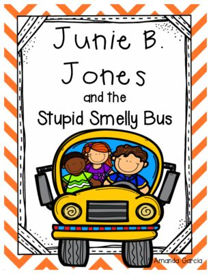 Junie B. Jones and the Stupid Smelly Bus: Complete Unit of Reading Responses from Amanda Garcia on TeachersNotebook.com -  (22 pages)  - With this unit, your readers complete one reading response activity after each chapter. The responses vary by day and are always aligned to the CCSS!