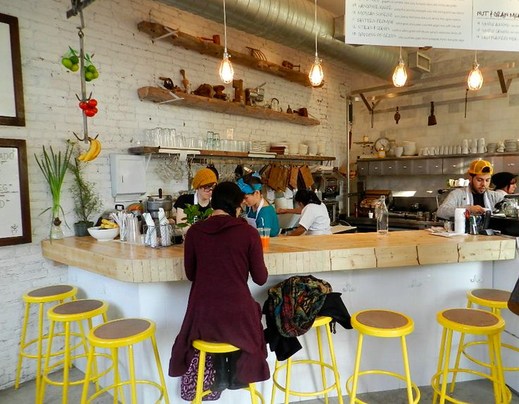 The Butcheru0027s Daughter A NY Juice Bar Looking Very Clean Neat And Fresh And  Very Left