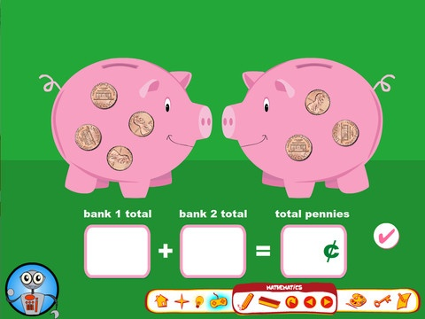 Counting Pennies app for the iPad