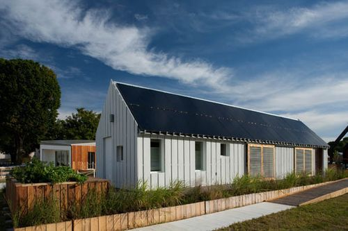 Passive House entry in the Solar Decathlon by the Illinois Team.