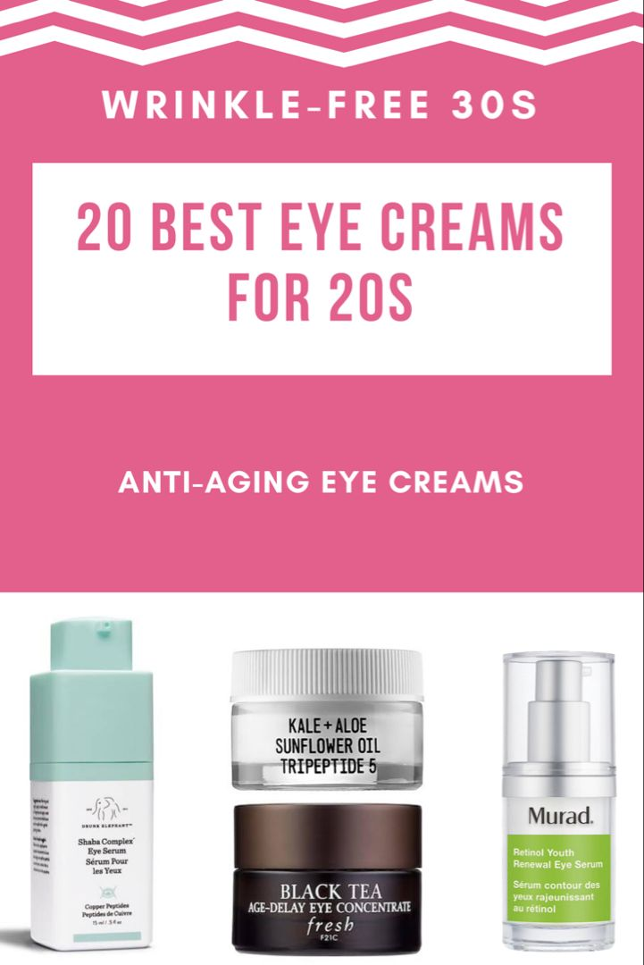 20 Best Eye Creams For 20s Wrinkle Free 30s Anti Aging Eye Care Best Eye Cream Anti Aging Eye Cream Face Mask For Pimples