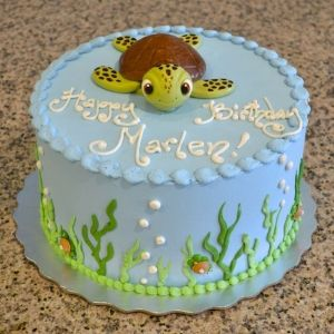 sea turtle birthday cake sugarland raleigh chapel hill