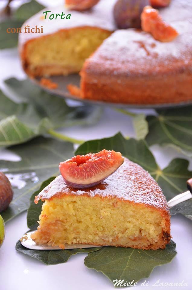 Ricetta Torta con fichi | Miele di Lavanda