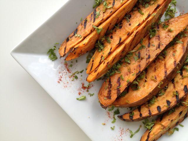 ... TCJ) on Pinterest   Grilled sweet potatoes, Fresh garlic and Skewers
