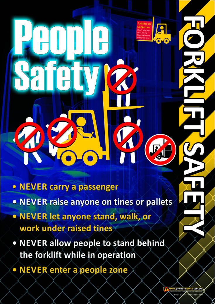 Safety posters for the workplace