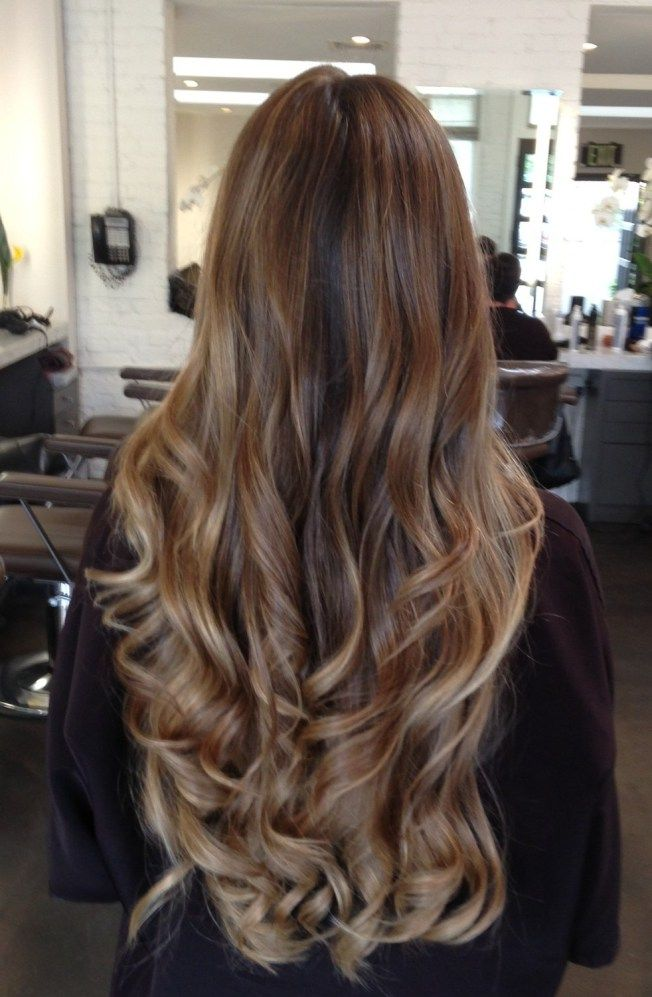 37 best brown ombre hair style and extension images on pinterest long hair extensions a natural hair style everyday pmusecretfo Image collections