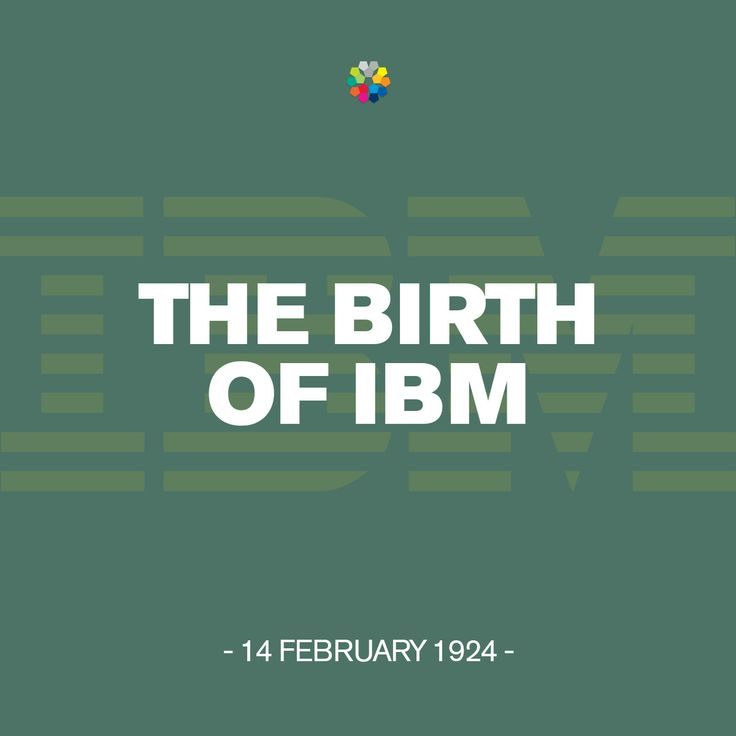 On this day in 1924, the Computing Tabulating Recording Corporation is renamed International Business Machines, aka IBM. #IBM #birthday