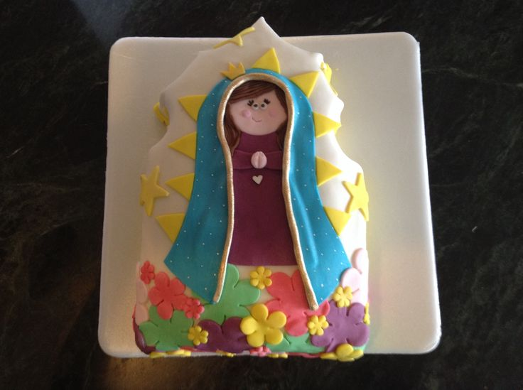 Torta de la virgen de Guadalupe
