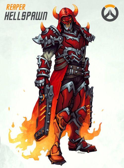 A legendary reaper skin