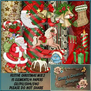 """CCDesigns: New In Store's """"Festive Christmas Mix 2 (TS/CU/S4H..."""
