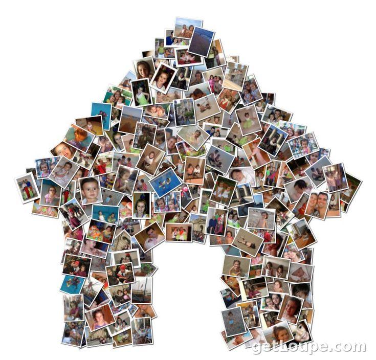 Las 25 mejores ideas sobre hacer collage de fotos en - Como hacer un collage de fotos a mano ...