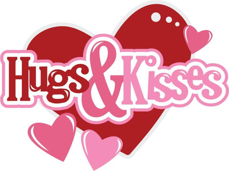 Hugs & Kisses SVG Scrapbook files svg files for scrapbooking svg cutting files for scrapbooks cute svg cuts