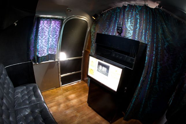 Austin Photo Booth Rentals: Vintage Airstream Photo Booth