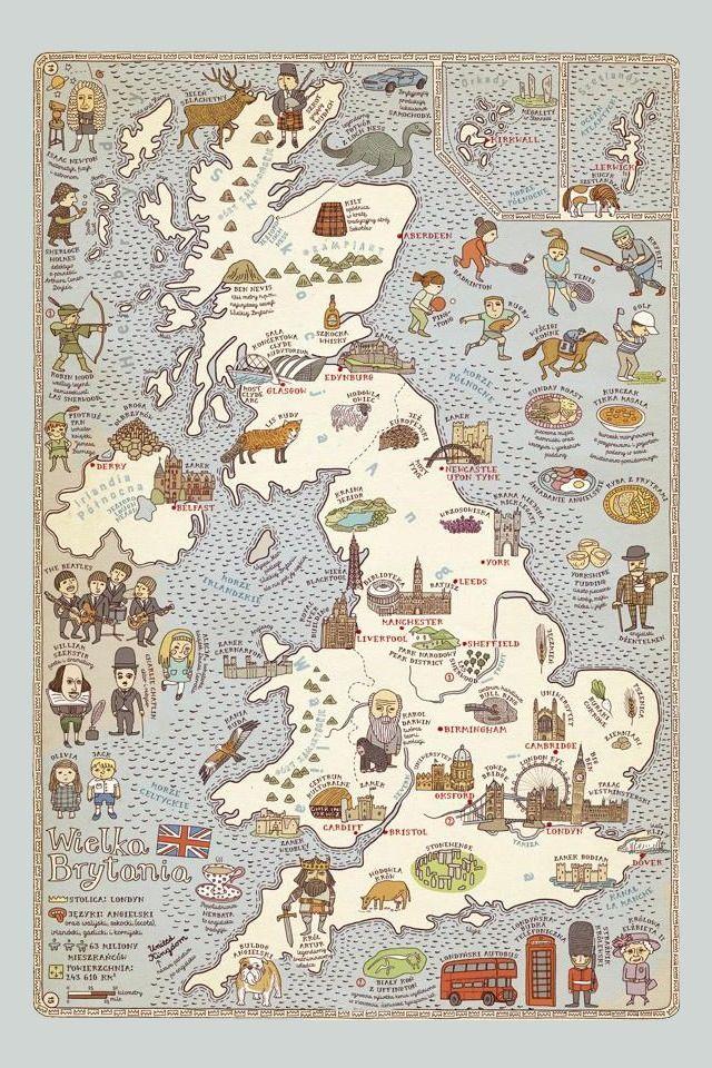 Maps  illustration by Aleksandra & Daniel Mizielińscy