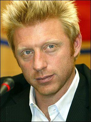 Boris Becker...one of the best on the lawns of Wimbledon