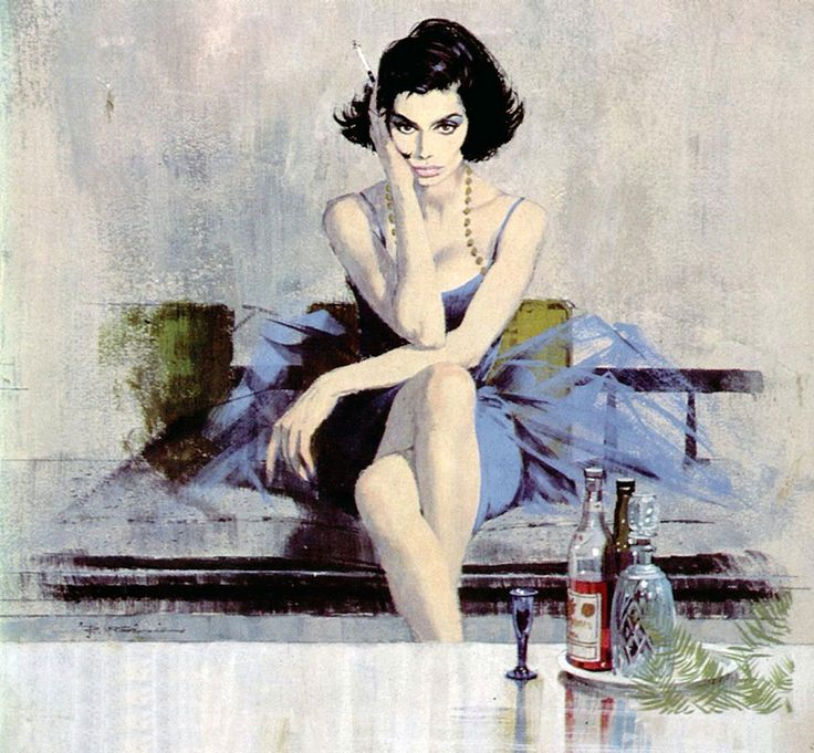 http://www.pinterest.com/cs0272/ Robert+McGinnis+1926+-++American+Panter+and+Illustrator+-+Tutt'Art+(5)
