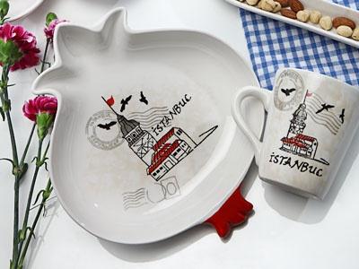 Seramik - İstanbul Serisi 804 Kupa