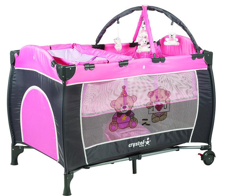 Crystal Baby Mambu Oyun Parkı - Pembe ürününü inceleyin