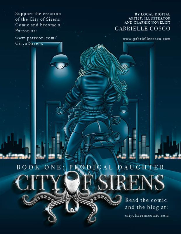 Gabrielle Cosco is creating The City of Sirens Series | Patreon