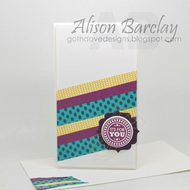 Gothdove Designs - Alison Barclay Stampin' Up! ® Australia : Stampin' Up! Australia - Stampin' Up! Bohemian Washi Tape