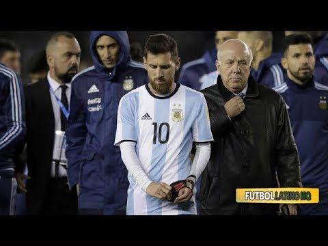 ¿Qué pasó con Leo Messi al terminar el partido de Argentina ante Venezuela? - YouTube