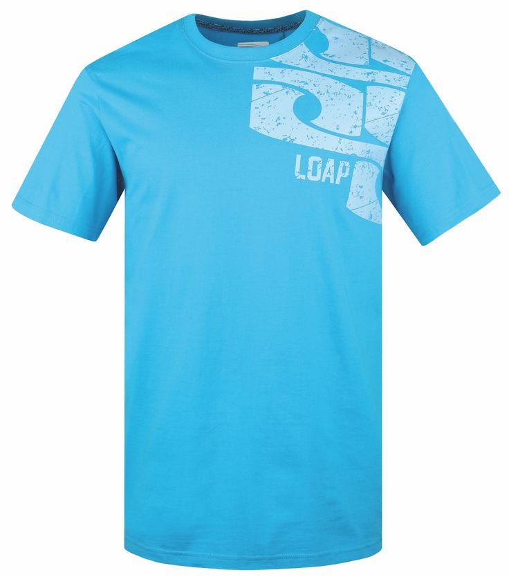 LOAP Pánské triko s krátkým rukávem AXEL velikost S-XXL