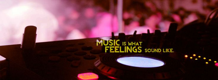 We provides Music Facebook cover photo (HD Quality) for your timeline. Quotes on cover:Music is what feelings sounds like . Try this fb cover photo now