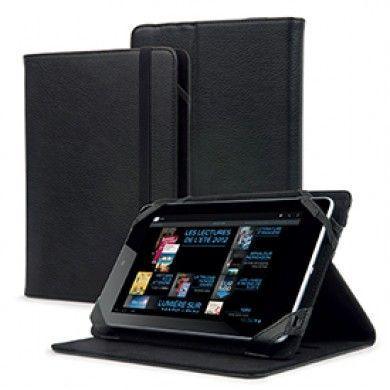 Funda Universal Tablet 7-8 pulgadas Muvit con Funcion Soporte Negra