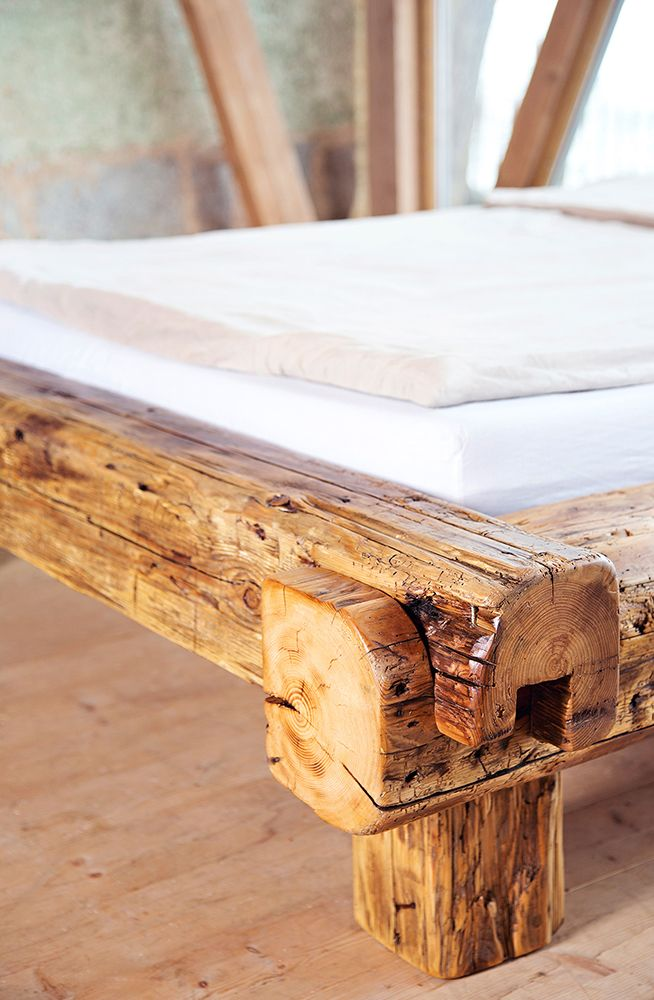 From An Old Roof Beam To A One Of A Kind Bedpost From Old