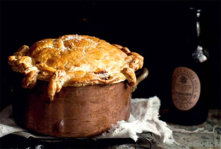 Beef and Guinness Pie from Leite's Culinaria