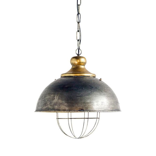 Covered Cage Pendant Large Pendant Light Metal Pendant Light Metal Light Fixture
