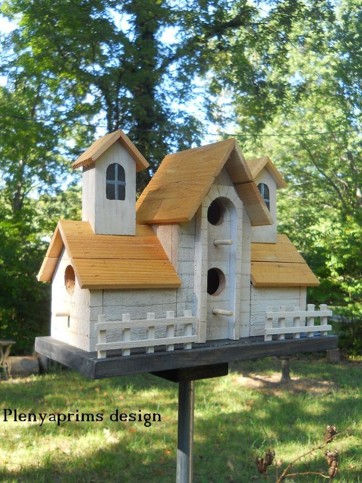 120 Best Birdhouses Images On Pinterest Birdhouses Bird Houses
