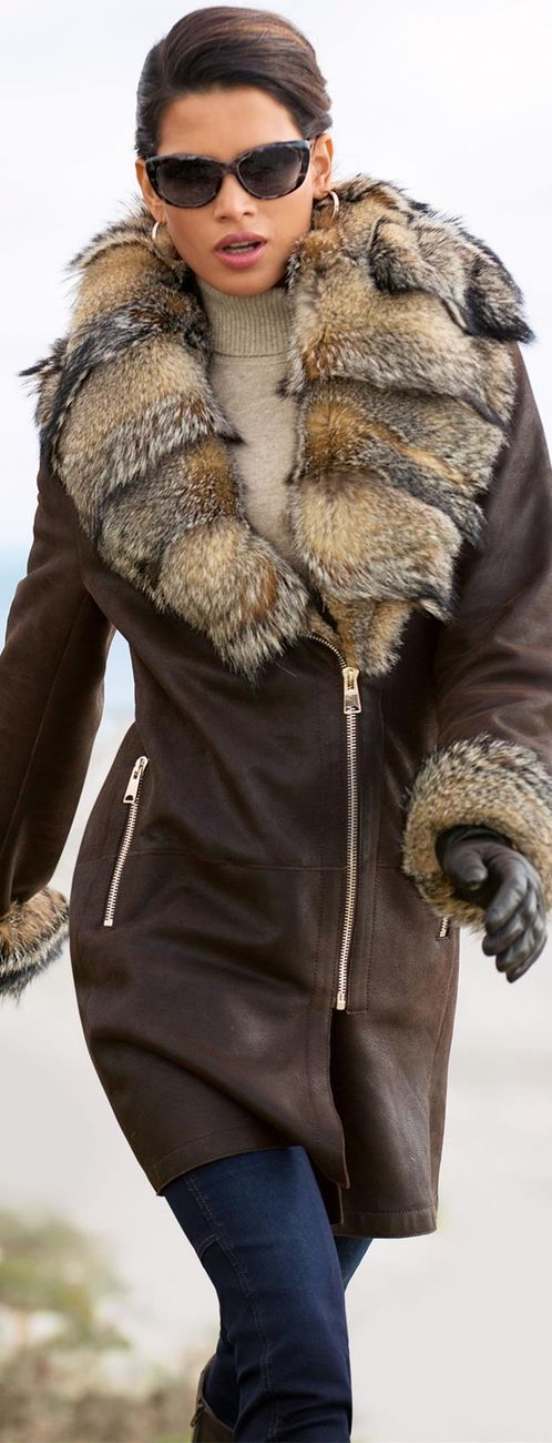 MADELEINE Lambskin Coat • тнє LOOK BOOK •  ✿ιиѕριяαтισи❀  • Babz ✿ #abbigliamento