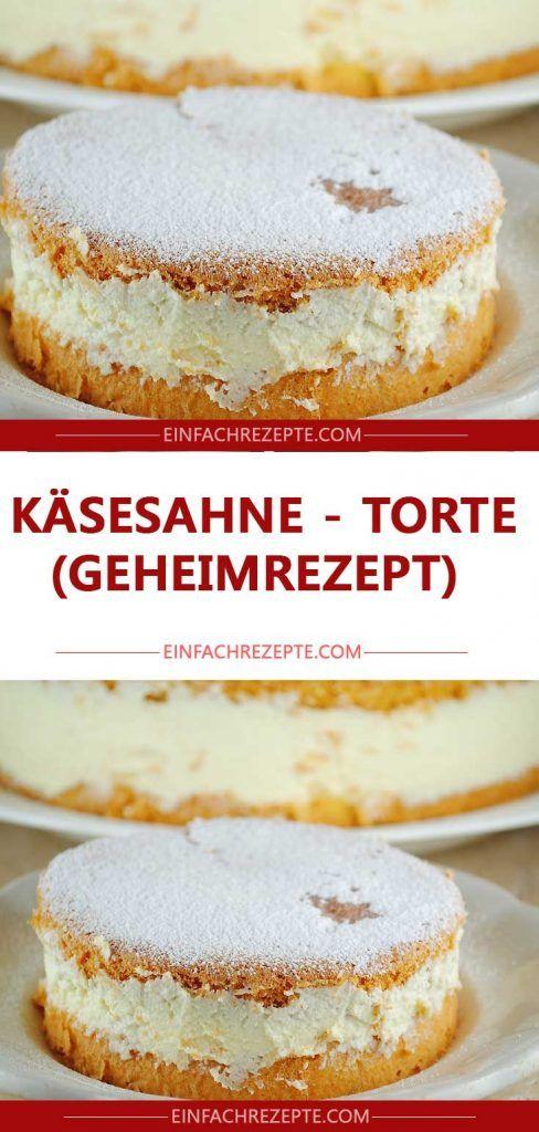 Käsesahne – Torte (Geheimrezept)