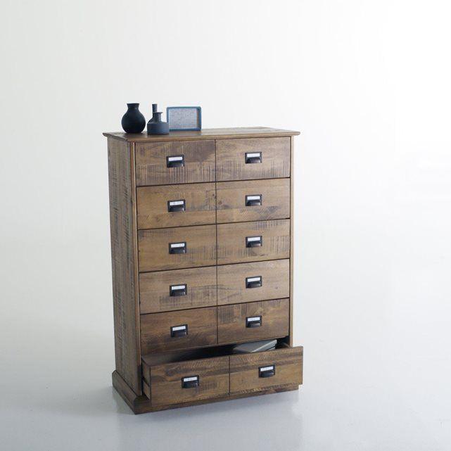 17 meilleures id es propos de commode haute sur pinterest meuble retro c - La redoute chiffonnier ...
