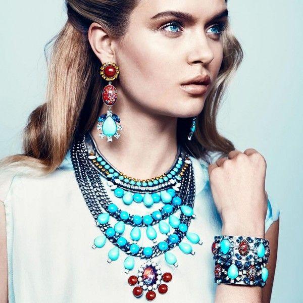 Women's Jewelry in Dannijo Spring-Summer 2013 Campaign (4)
