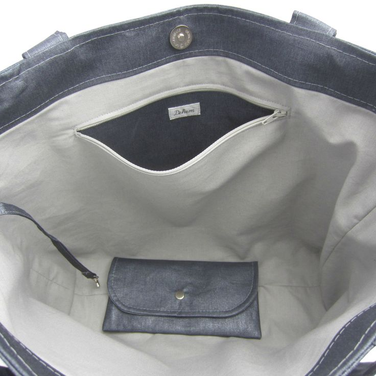 TUTO GRATUIT! le tutoriel de la poche zippée à mettre dans un sac ou bien dans…