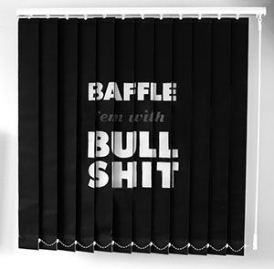 Ampersandesign | Portfolio | Brand Communication | Graphic Design  #print #design #graphics #graphicdesign #personal #projects #jargon #boardroom #typography #corporate #language #type #typography #communication #words #meaning #obscurity #office #blind #dazzle #genius #baffle #bullshit #spray