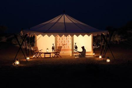 Resorts tent in Mumbai-2
