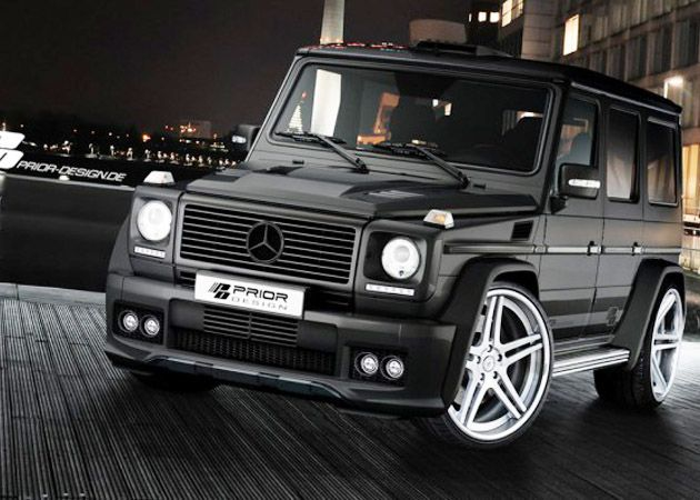 Merc - G Class - Prior Design. I'm not a fan of this model car, but this design is mad dope.