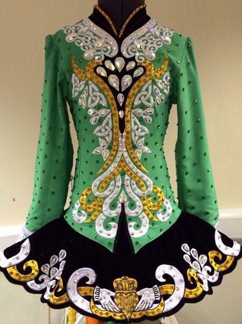 Claddagh design solo dress