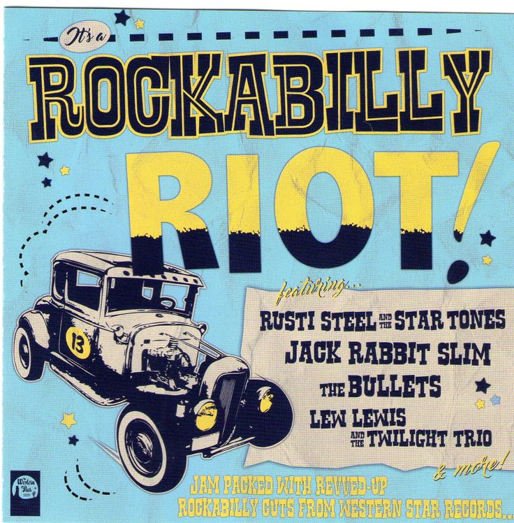 English Rockabilly bands compiled in 2016