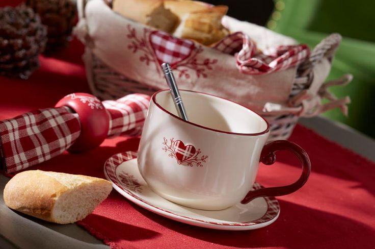 La d co style chalet chalets tables et s rum - Vaisselle style montagne ...